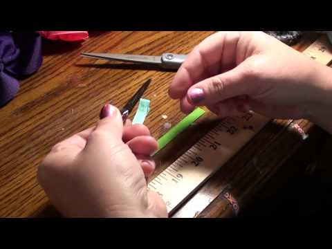 How To Line An Alligator Clip for Hair Bows