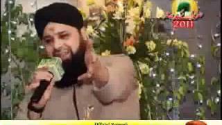 Falak Ke Nazaro Zameen -  Owais Raza Qadri -  Mehfil Sada e Madina 2011  (Faisalabad)