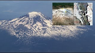 Giant Frozen Alien Discovered Near The Top Of Mount Adams