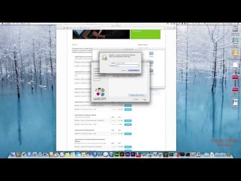 Wacom Intuos Tablet Driver Download & Install on Mac