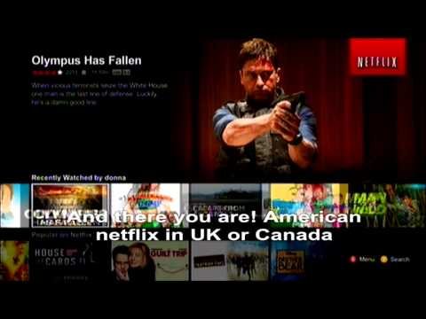 How to get American Netflix in England/Ireland on Xbox360/One/PS3/PS4/Wii [DNS SETTINGS]