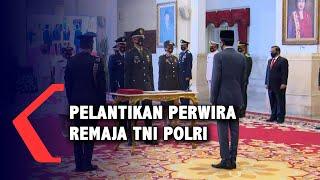 Pelantikan Perwira Remaja TNI Polri Dilakukan Secara Virtual