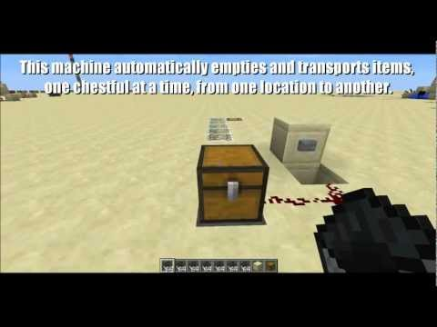Minecraft 1.5: Automatic Item Transport Station Using Minecarts, Hoppers and Comparators