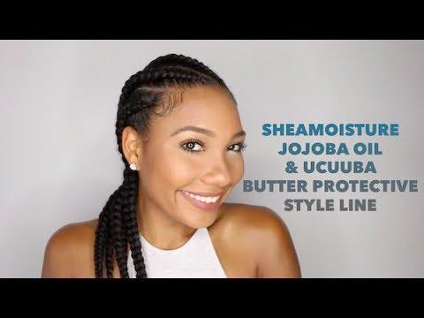 SheaMoisture Jojoba Oil & Ucuuba Butter Protective Style Line