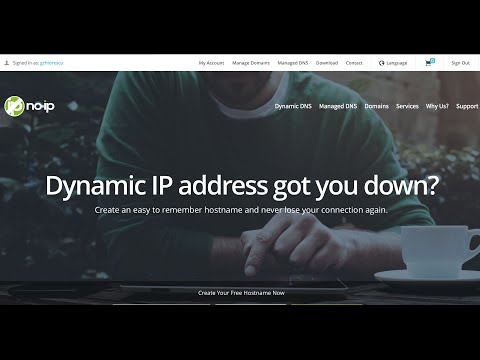 Create a Free  Domain Name and link it to  your Router Dynamic IP