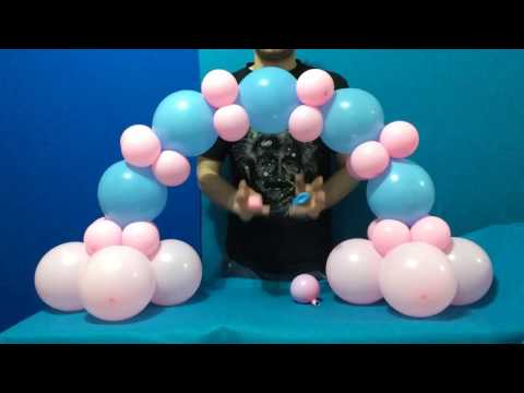 Dollar Store Balloon Arch Tutorial!