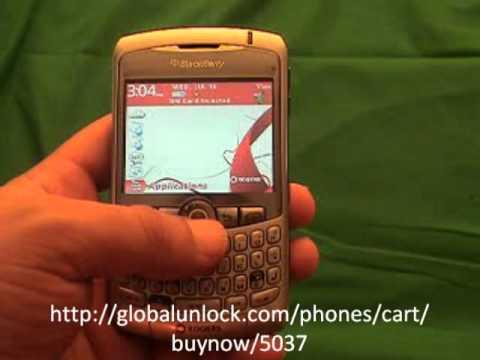 Unlocking Loop Mobile India Blackberry 8310 Curve