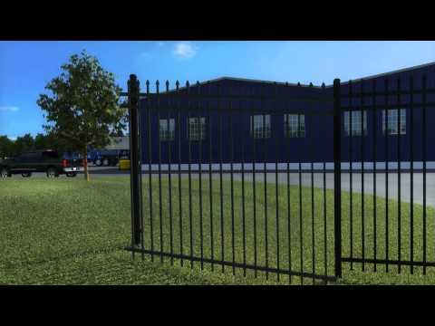 Montage Commercial Ornamental Steel Fencing   Classic, Majestic & Genesis styles