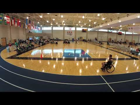 Detroit Wheelchair Rugby Club  versus Grand Rapids Period 3 (2018 03 17)