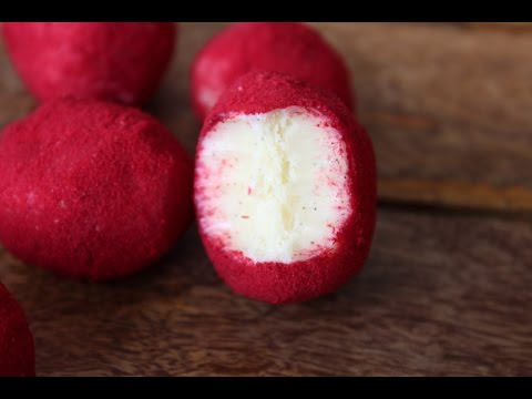 How To Make White Chocolate And Raspberry Truffles - By One Kitchen Episode 165