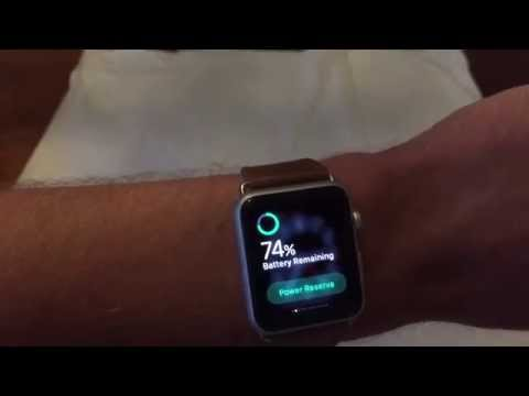 How to check battery percentage on Apple Watch
