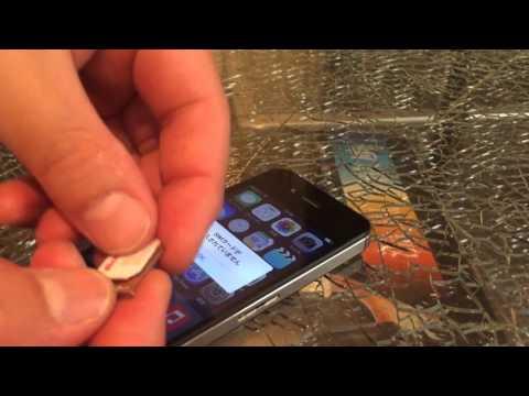 au iPhone4S iOS9 GPP SIMロック解除アダプター設定方法