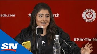 Bianca Andreescu Talks U.S. Open, Dealing With Fame, And Drake Texts   FULL Press Conference