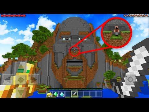 DO NOT ENTER THE TEMPLE OF NOTCH! *SECRET* (Minecraft)