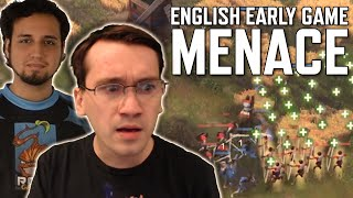 Let's PRAY He Does Not Figure This Out!   Age of Empires 4   AoE4