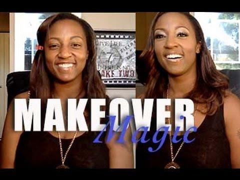 Makeover Magic : Erica   Tynisha The Atlanta Makeup Artist