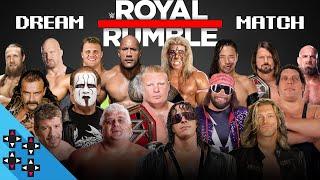 ROYAL RUMBLE DREAM MATCH - WWE 2K18 Match Sims