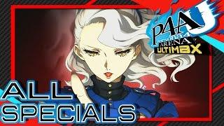Persona 4 Arena Ultimax: Akihiko Combos - PakVim net HD