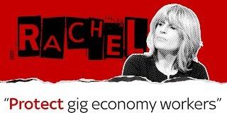 Rachel Johnson on gig economy workers