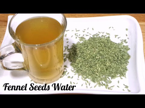 Fennel Seeds Water for Weight loss Fast/ Saunf Water