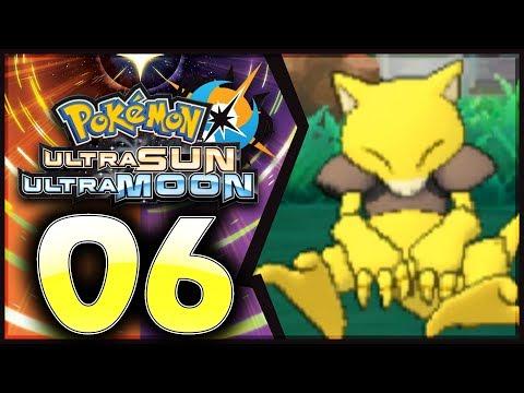 Pokemon Ultra Sun and Moon: Part 6 - RARE ABRA! [100% Walkthrough]