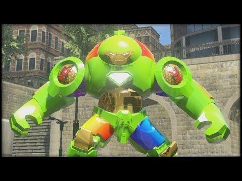 LEGO Marvel Superheroes - Rainbow Hulkbuster Custom
