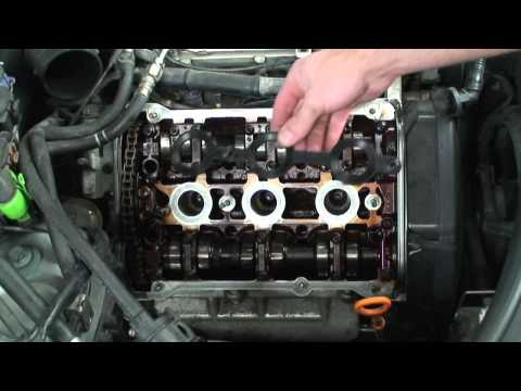 Audi Valve Cover Gasket Replacement - RTV Application - 2 of 3
