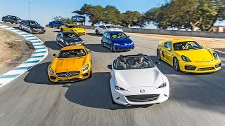 Picking the 2015 Motor Trend Best Driver