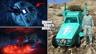 I've opened the Hatch in GTA 5.. this is what's inside! (Hidden Secret)