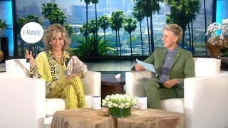 Jane Fonda and Ellen Play