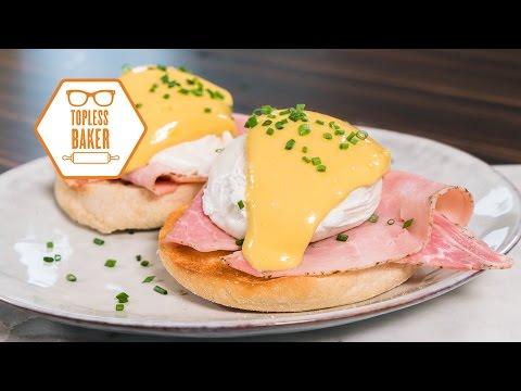 5 Minute Eggs Benedict - Topless Baker