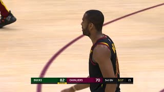 3rd Quarter, One Box Video: Cleveland Cavaliers vs. Milwaukee Bucks