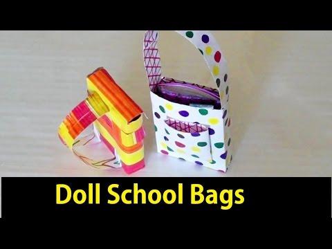 How to Make: a Mini School Bags!!