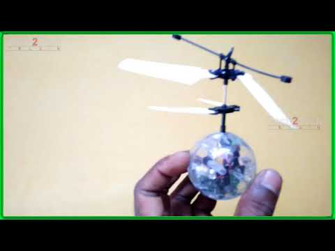 Unboxing Flying Colored RC Ball | How to Fly a Helicopter | Heli Ball Tricks | Tech2tech Telugu