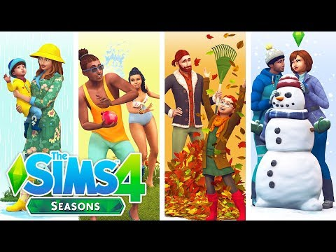 THE SIMS 4 SEASONS TRAILER REACTION/THOUGHTS🌞⛄☔🍂 | SEASONS IS ONLY 1 MONTH AWAY!