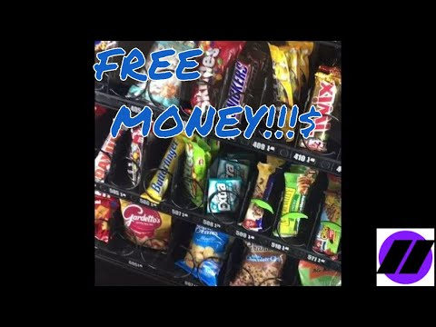 TWO WAYS TO GET FREE MONEY IN A VENDING MACHINE! (NOT CLICKBAIT)