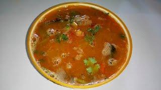 Alasandula Chaaru -- అలసందుల చారు -- అలసందుల రసం -- Black-eyed Peas Rasam
