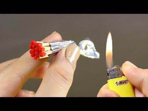 DIY Match and Foil Gun