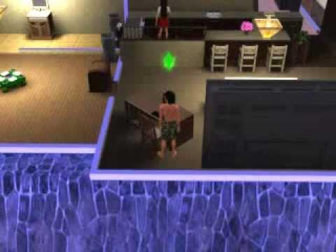 When a Sim turns into a Werewolf. (Sims 3 Supernatural)