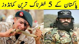 Top 5 Best Commandos of Pakistan Army - Pakistani Commandos Training