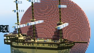 FLOATING TNT SHIPS! | 2v2 Minecraft TNT WARS