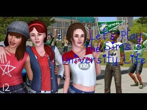 Let's Play the Sims 3 University Life! Part 12: Learning Skills