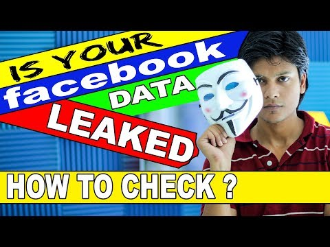 Is your facebook data leaked ? check it out by clicking here | Trick | TechnoBaaz