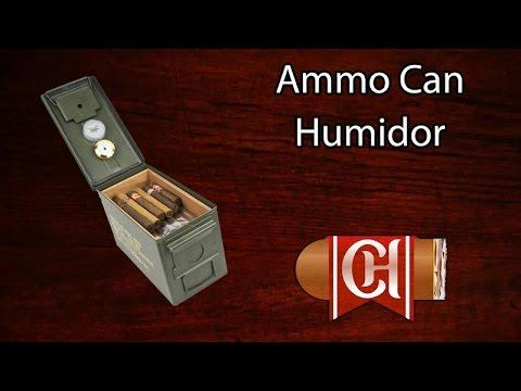Ammo Can Humidor