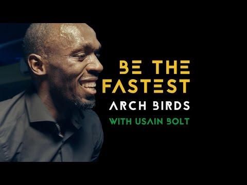 Arch Birds | Be The Fastest feat. Vanessa Haynes & Usain Bolt (Official Music Video) | Virgin Media