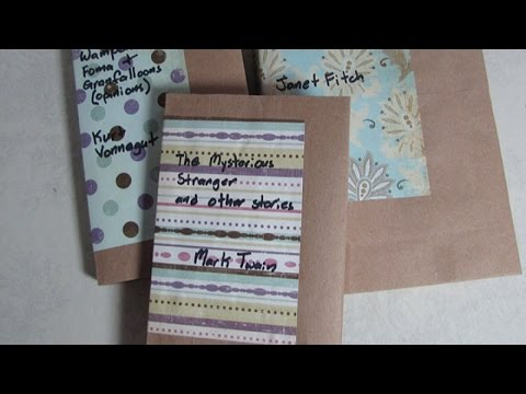 Make Pretty Paperback Book Covers - DIY Home - Guidecentral