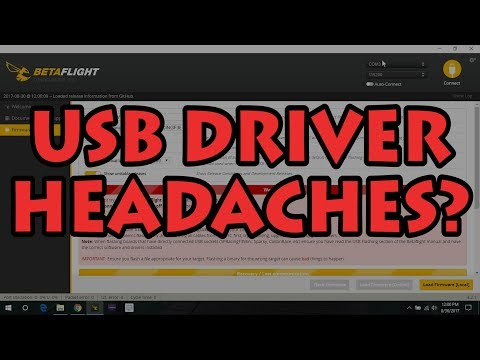 How to Fix Betaflight USB Connection Errors ⭐
