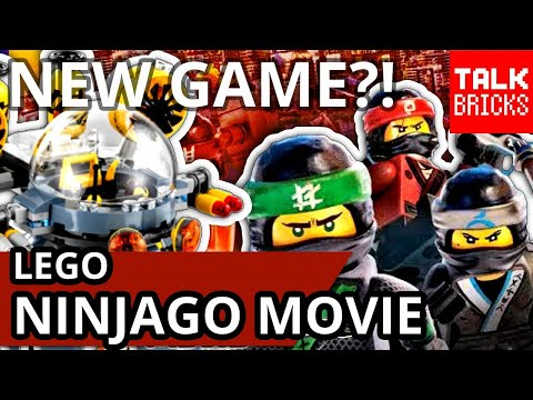 LEGO Ninjago Movie News! NEW Set Pictures! NEW Video Game?! NEW Book! Flying Jelly Sub! Shark Attack