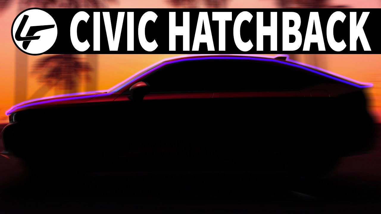 The 2022 Honda Civic Hatchback Gets A Reveal Date & a MANUAL !!!