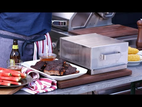 It's Easy! Make Smoked Ribs at Home with Our Smoker Box
